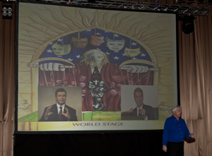 David Icke in Ukraine